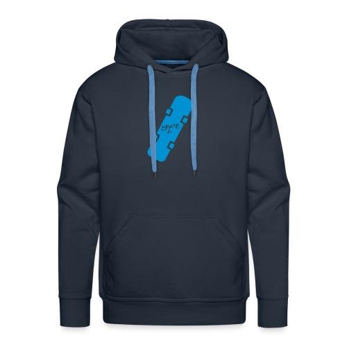 skateboard blue - Men's Premium Hoodie