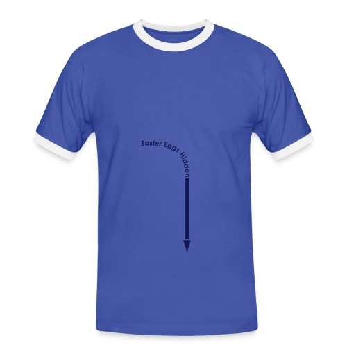 BLUE T-SHIRT - Men's Ringer Shirt