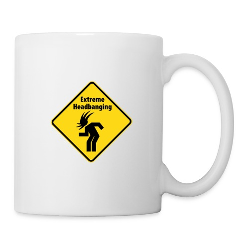 KC Radio: Extreme Head Banging Mug - Mug