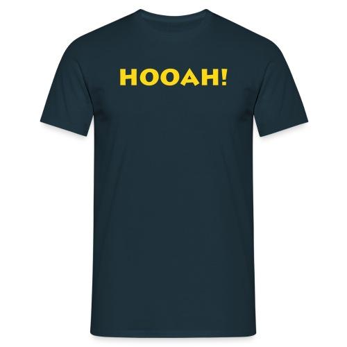 Hooah! Navy - Männer T-Shirt