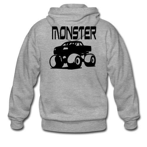 Monster Truck Hoody - Men's Premium Hooded Jacket