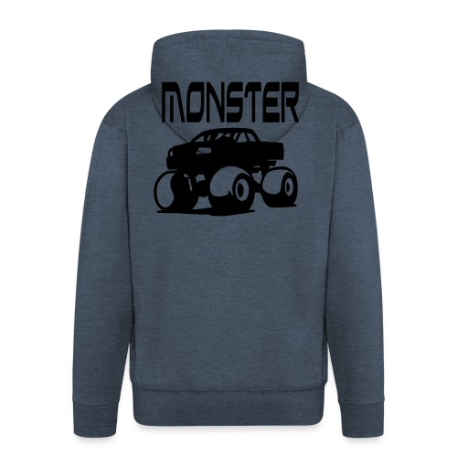 Monster Truck Hoody - Men's Premium Hooded Jacket