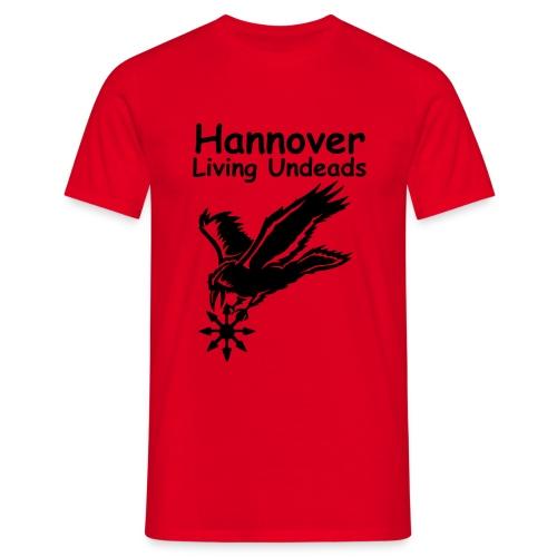 SCr, ohne Ligalogo, Rückenschrift zweizeilig - Männer T-Shirt