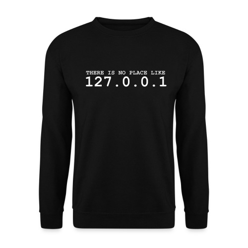There is no place like 127.0.0.1 - Mannen sweater