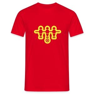 Fußball uno - Mannen T-shirt