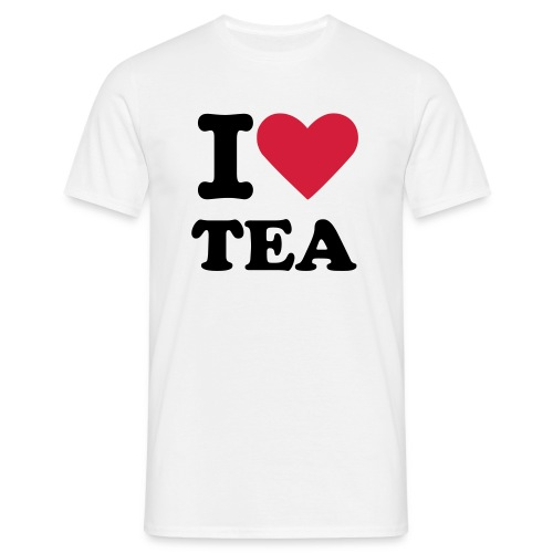 I Heart Tea - Men's T-Shirt