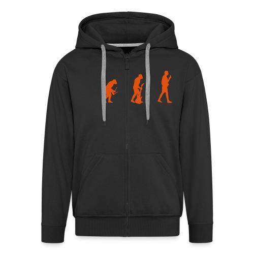 evolution hoodie - Men's Premium Hooded Jacket
