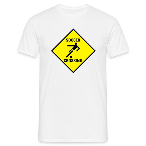 Sports :: Soccer Crossing - Men's T-Shirt