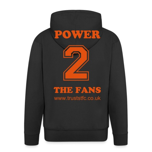 STFC Orange Revolution 'POWER 2 THE FANS' - Men's Premium Hooded Jacket
