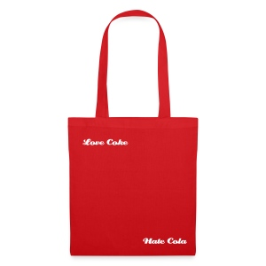 Love Hate - Full Fat - Tote Bag