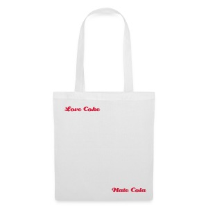 Love Hate - Diet - Tote Bag
