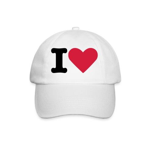 I love hat - Baseball Cap