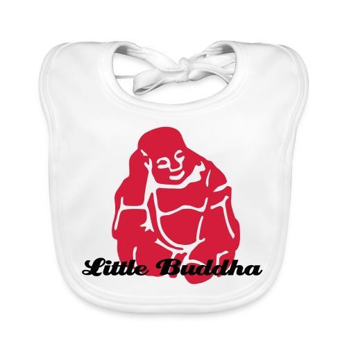 Baby Organic Bib - Bib to match your favorite Buddha belly. Also available in Pink and Blue.