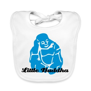 Baby Organic Bib - Bib to match your favorite Buddha belly. Also available in Pink and Red.