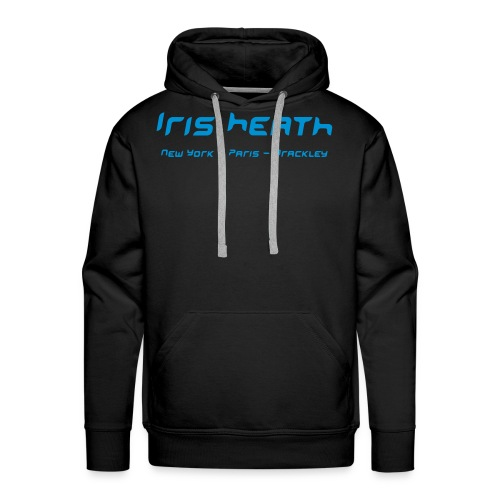 Men's Premium Hoodie - Iris Heath New York - Paris - Brackley