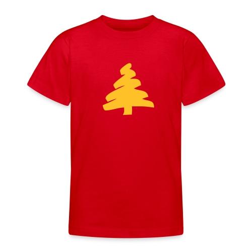 Kids TShirt: Tannenbaum. - Teenage T-shirt