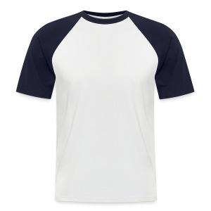Kortermet baseball skjorte for menn - Regular t-shirt