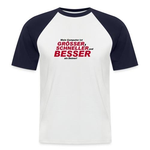 PC - Männer Baseball-T-Shirt