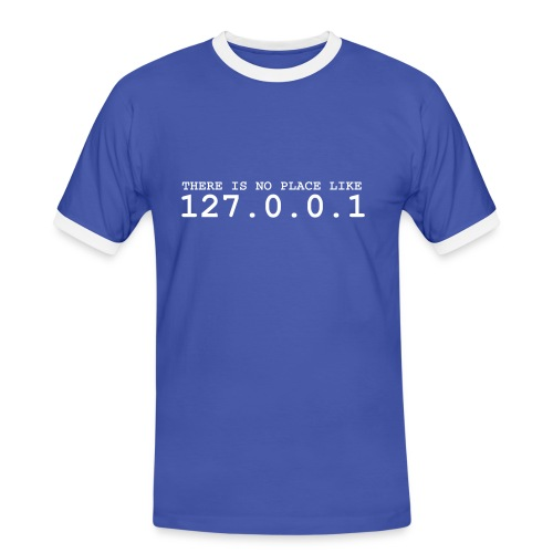 LanIP - Männer Kontrast-T-Shirt