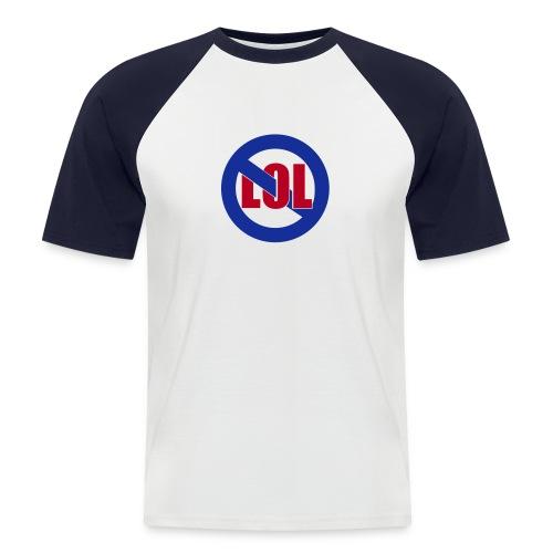 Anti LOL - Männer Baseball-T-Shirt