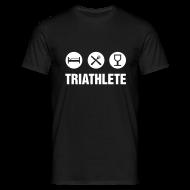 T-Shirts ~ Men's T-Shirt ~ Triathlete - white
