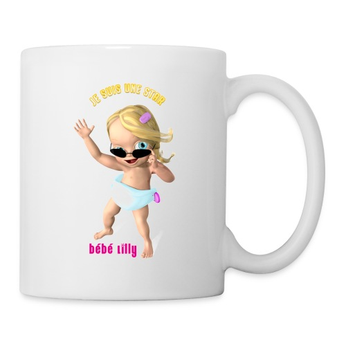 Tasse Bébé Lilly - Mug blanc