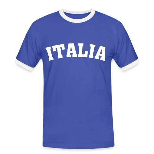 EM-Italia - Männer Kontrast-T-Shirt