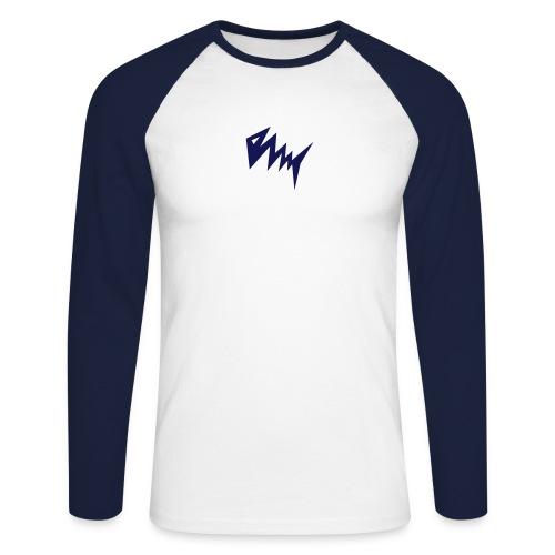 Blitzfish Longsleeve - Männer Baseballshirt langarm