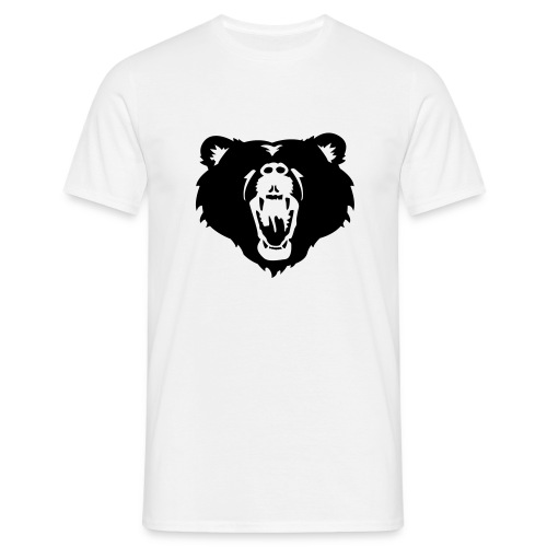 Brullende Beer - Mannen T-shirt