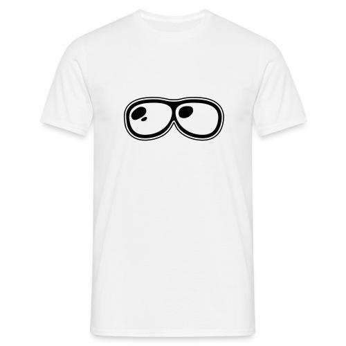 Glasses - Mannen T-shirt