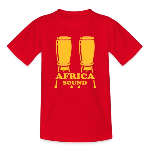Africa Sound - Teenage T-shirt