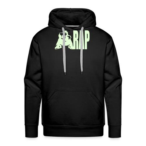 Selvlysende rap genser - Premium hettegenser for menn
