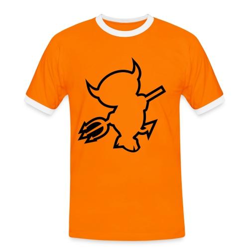 T shirt Slim Contrast - T-shirt contrasté Homme