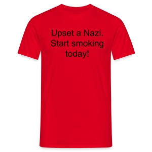 Upset a Nazi T-Shirt - Men's T-Shirt