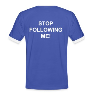STOPFOLLOW - Men's Ringer Shirt