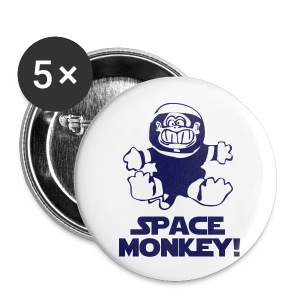 Space Monkey Badges - Buttons medium 32 mm