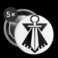 Badges ~ Badge petit 25 mm ~ Badge FLB noir