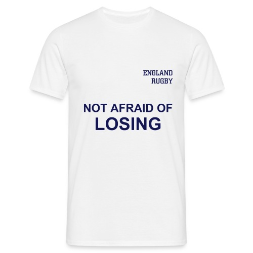 England - not afraid front - Men's T-Shirt