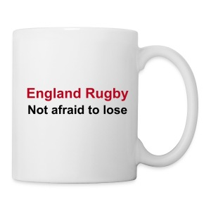 England - not afraid - Mug