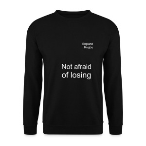 England - not afraid - Men's Sweatshirt