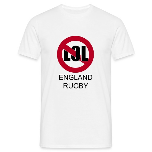 England - no lol - Men's T-Shirt