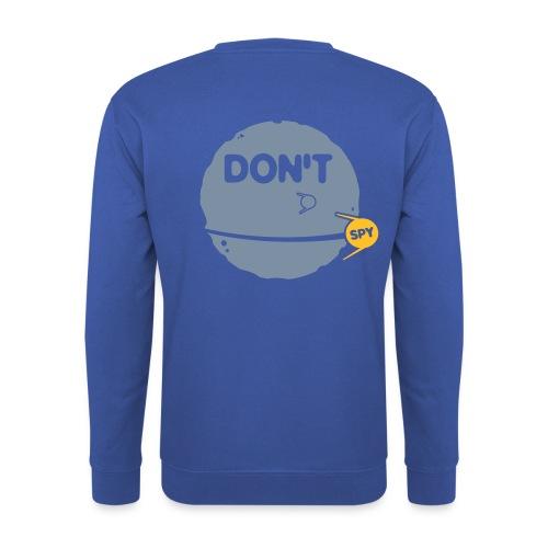 don't spy - Mannen sweater