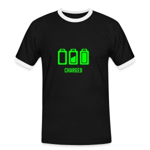 charged - T-shirt contrasté Homme