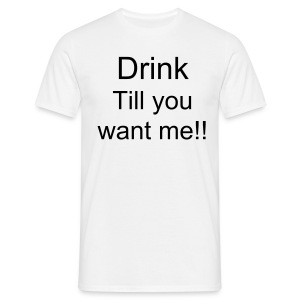 Drink T-Shirt - Men's T-Shirt
