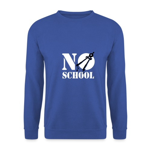 no school - Sweat-shirt Homme