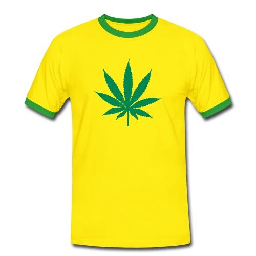 Cannabis T-Shirt - Men's Ringer Shirt