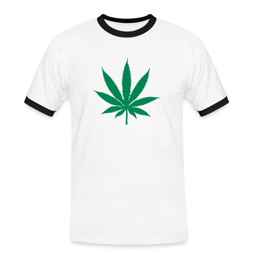 Cannabis T-Shirt - Men's Ringer Shirt