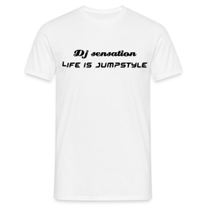 T shirt - Dj sensation - Mannen T-shirt