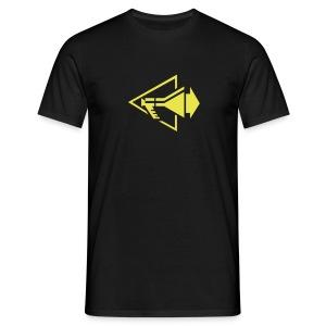 DM Megaphone Logo - Männer T-Shirt