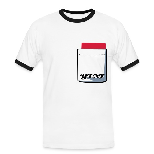 red card t-shirt - Men's Ringer Shirt